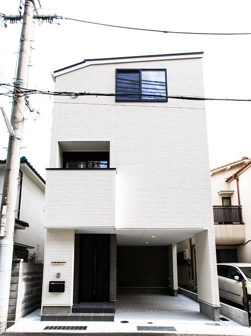 上筒井通の家